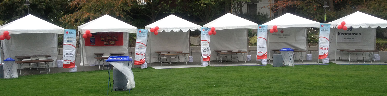 Table and Chair rentals in the Greater Puget Sound area